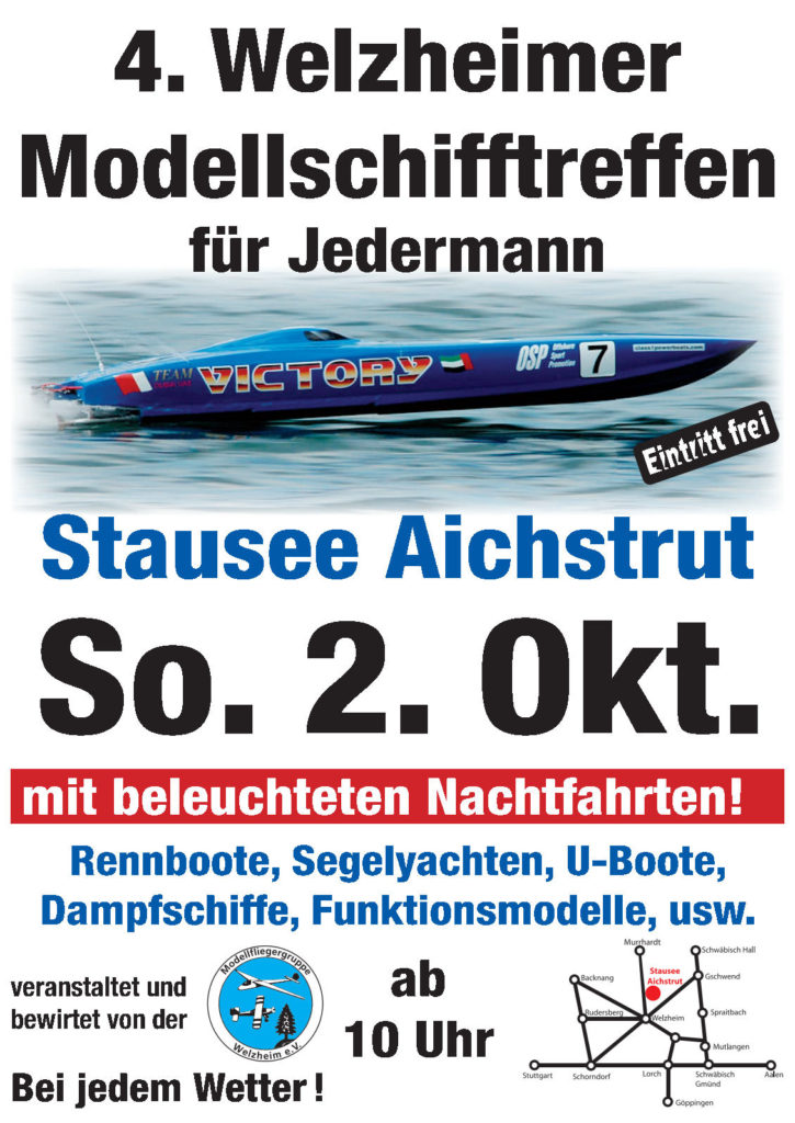 4. Welzheimer Modellschifftreffen